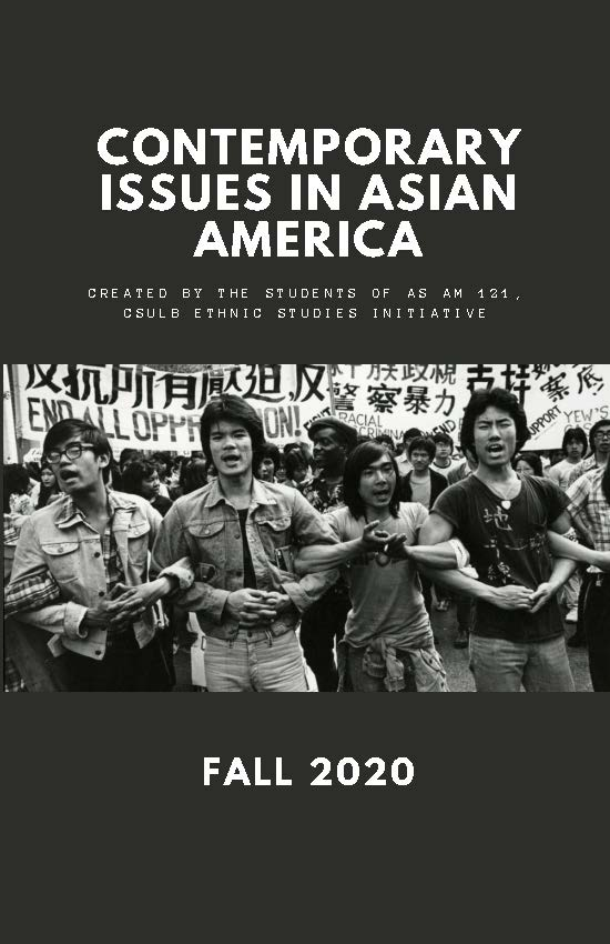ASAM 121 Zine Created by Students from Prof. Lan Nguyen's Fall 2020 ESI Course
