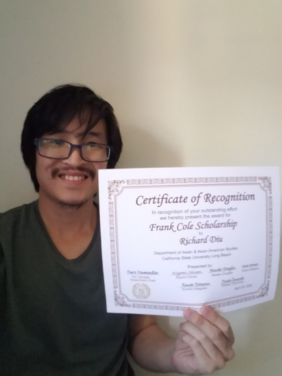 Frank Cole Scholarship, Richard Diu