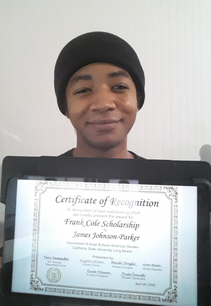Frank Cole Scholarship, James Johnson-Parker