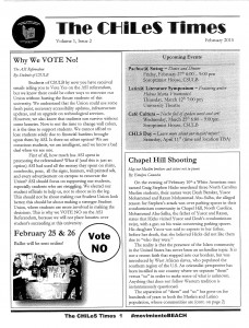 Introducing The CHiLeS Times v.1 Issue 2_Page_1