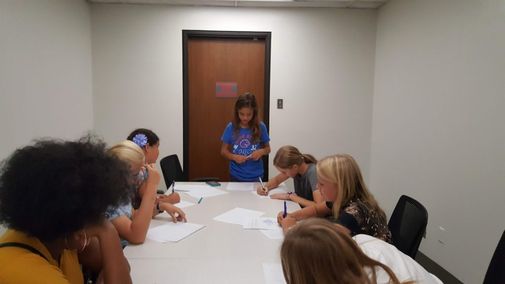 Girl Scout Debates!