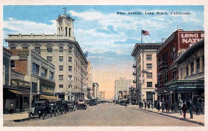 picture of pine avenue, long beach