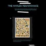 "Student Work ""The Harlem Renaissance"" Title Page"