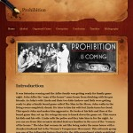 "Student Work: ""Prohibition and Crime"" Abstract"