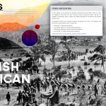 """Student Work: """"Spanish American War"""" Title Page"""