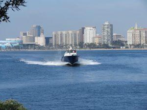 A view of the Long Beach Shoreline
