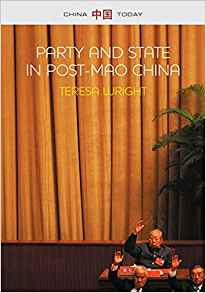 Party and State in Post-Mao China Cover