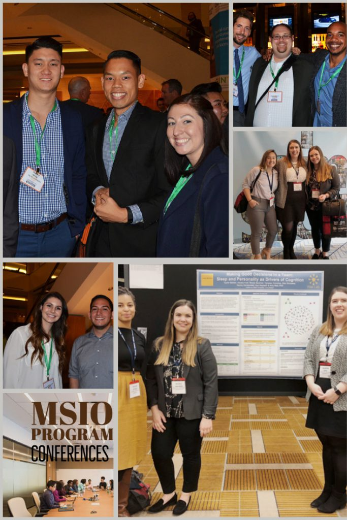 MSIO conferences