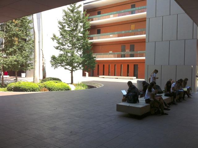 Psychology Courtyard