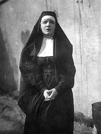 second picture of Myrtle in nun's habit