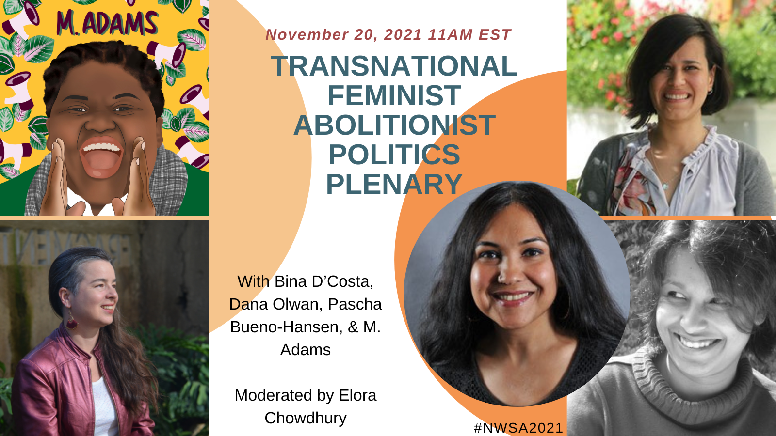 NWSA conference November 20 Transnational Feminist Abolitionist Politics