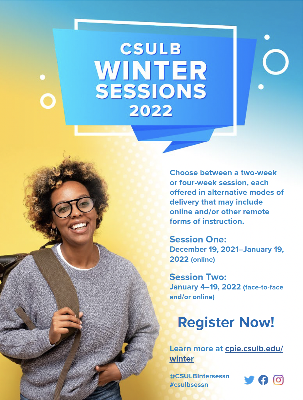 Winter session information