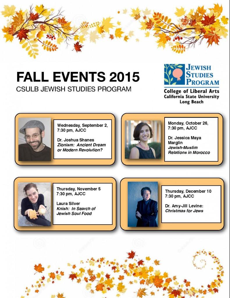 Fall 2015 Speakers