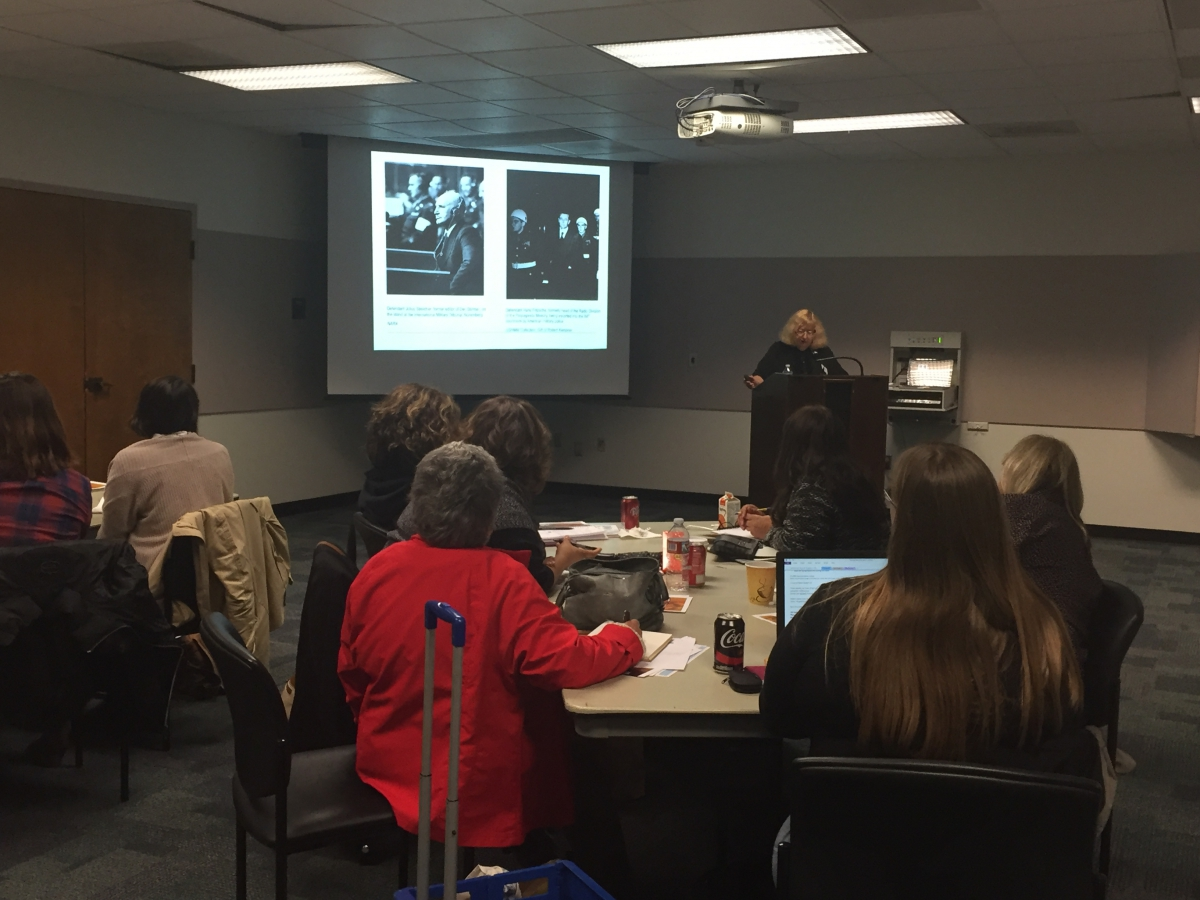 Spring 2016 Role of Propaganda in Fascism Workshop