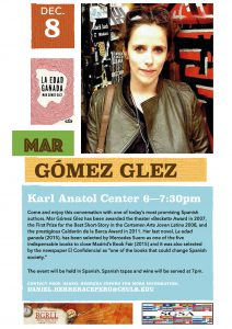 Poster Encounter with Mar Gomez Glez