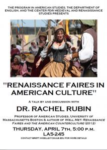 Renaissance faires in american culture