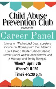 Career Panel Child Abuse Club