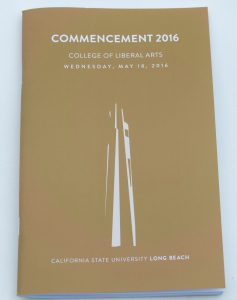 Commencement 2016 Program