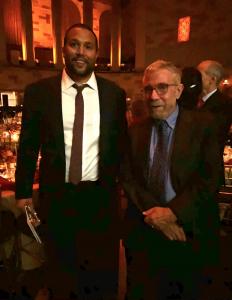 Dr. Jan Haldipur and Paul Krugman, Book Prize Judge